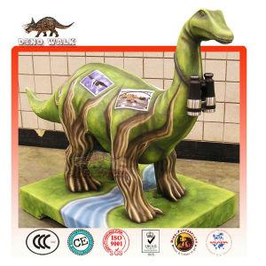 Fiberglass Cartoon Dinosaur Landscape