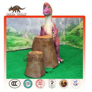 Hand Wrestling Cartoon Dinosaur Model