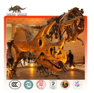 de fibra de vidrio fósiles de dinosaurios