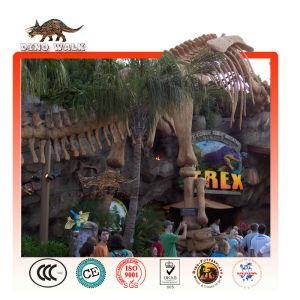 Jurassic Restaurant Tyrannosaurus Skeleton Landscape