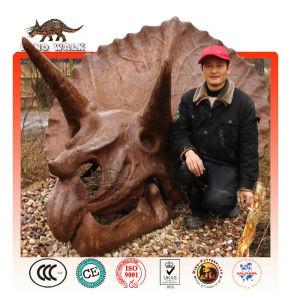 Fiberglass Triceratops Head