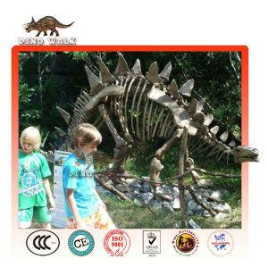 artificial stegosaurus fósiles