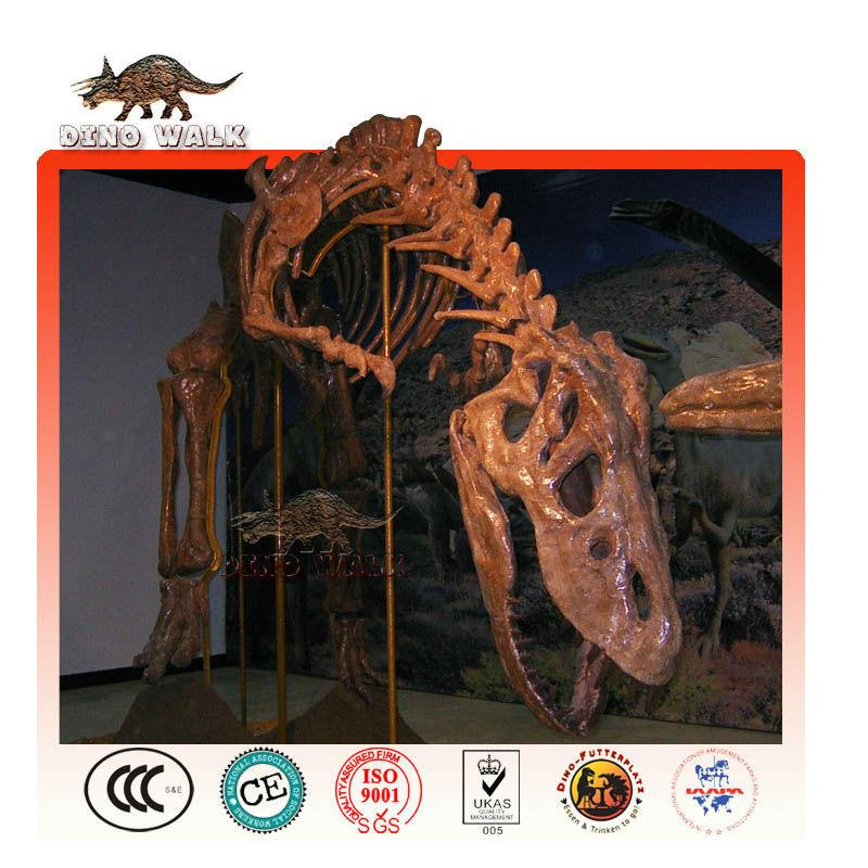 lebensgroße skelett dinosaurier replik