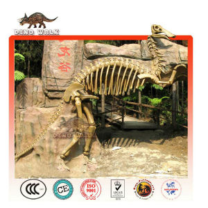 de fibra de vidrio fósiles de dinosaurios de entrada