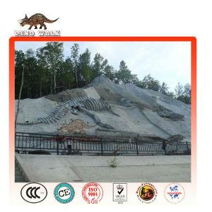 Artificial Dinosaur Fossil Mountain