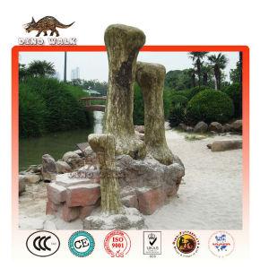 big size dino fossilen landschaft