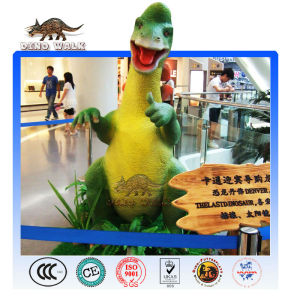 shopping mall cartoon dinosauro animatronic