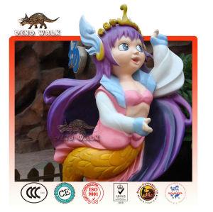 fibra de vidro modelo de princesa