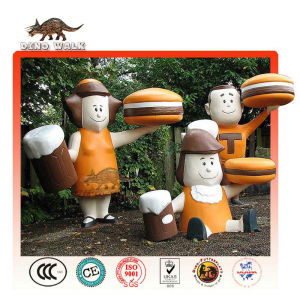 Customized Fiberglass Cartoon Figure