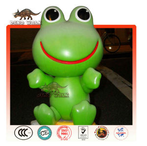 fiberglas cartoon frosch