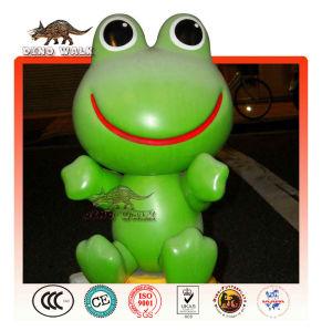Fiberglas karikatür kurbağa