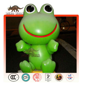 Fiberglass Cartoon Frog
