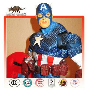 Life Size Fiberglass America Captain