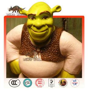 Life Size Fiberglass Shrek Statue