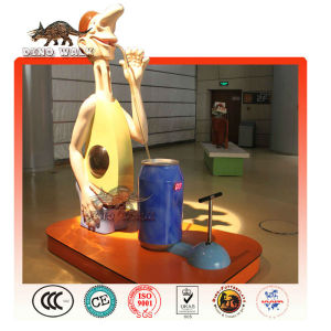 Science Museum Fiberglass Character Decorations