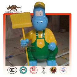 리 섬유 만화 공룡 모델