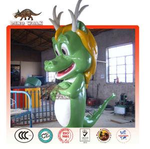 fibra de vidro dragon mascote