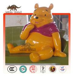 Fiberglass Winne Bear Statue