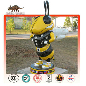 Fiberglass Cartoon Bee