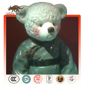vetroresina teddy orso statua