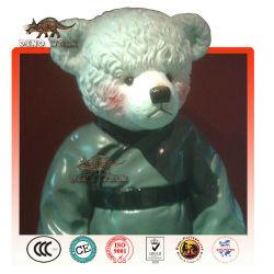 de fibra de vidrio del oso de peluche estatua