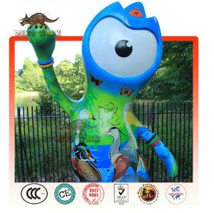 Olimpiyat Fiberglas süslemeleri maskot