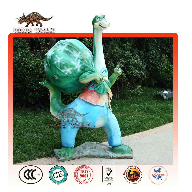 도둑 유리 섬유 공룡