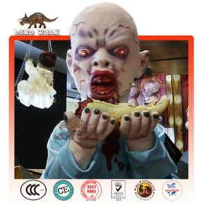 halloween voce shopping mall zombie animatronic