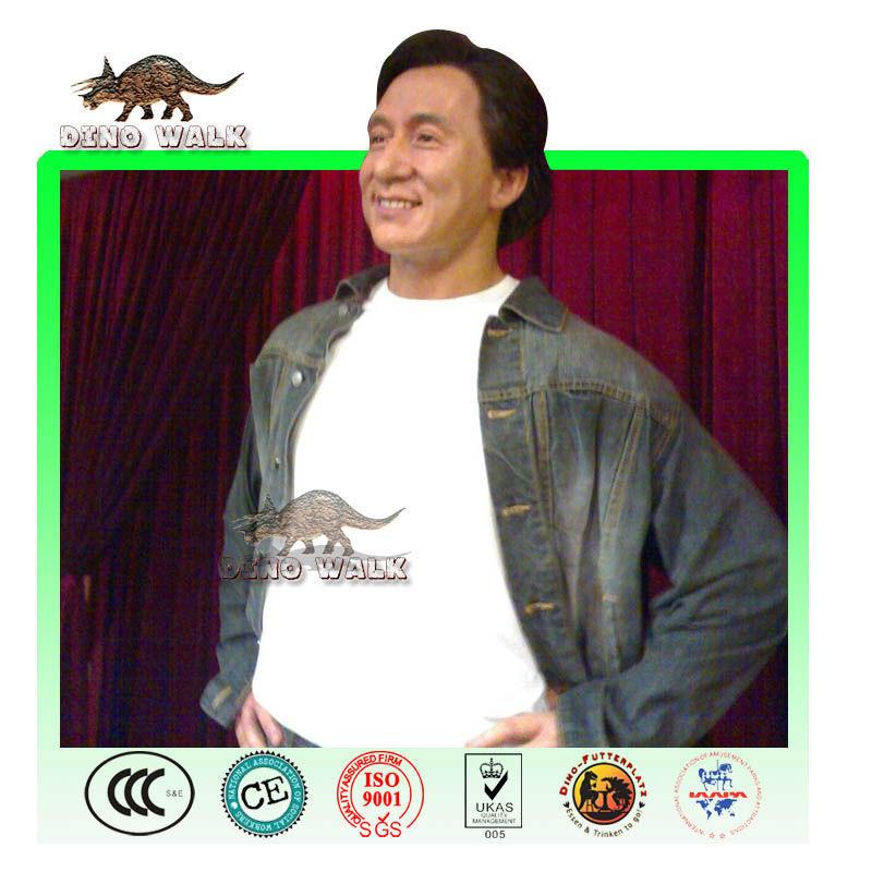 Jackie Cheng Silikon figürü
