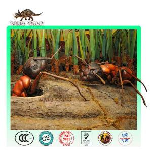물관 제품 유리 섬유 동상 개미