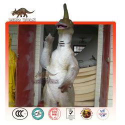 interactivo traje de dinosaurio