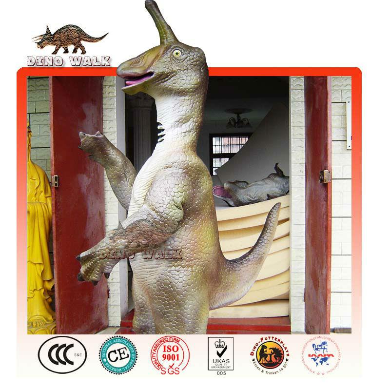 대화 형 공룡 정장