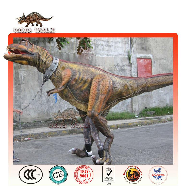 animatronic traje de dinosaurio