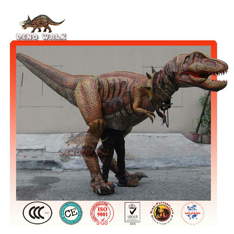 animatronic velicoraptor traje