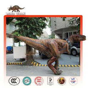 Interactive passeio t-rex traje
