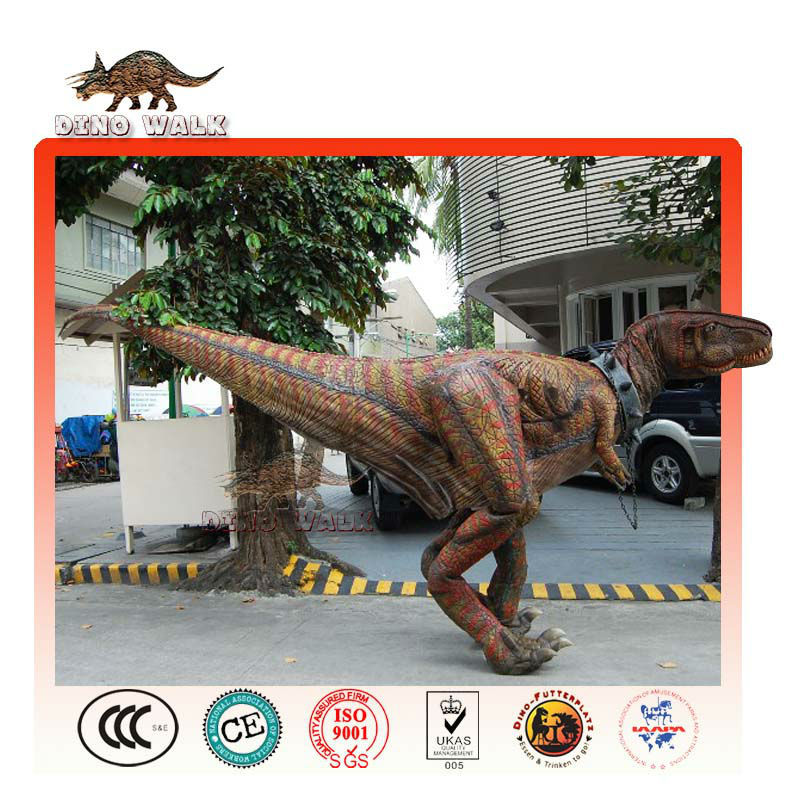 インタラクティブt-rex衣装を歩く