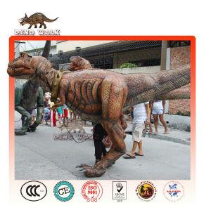 vida tamanho traje de dinossauro prop