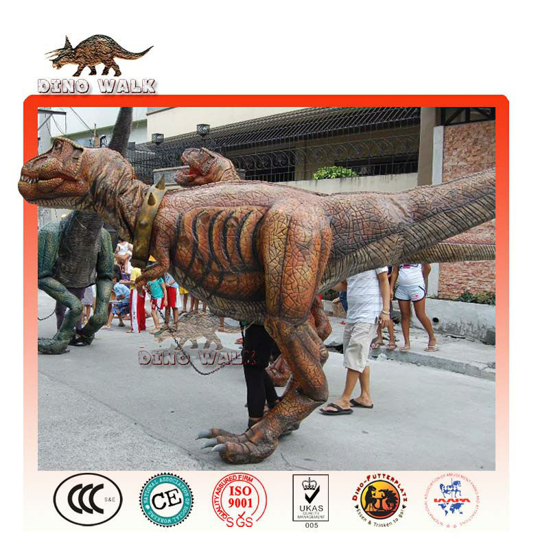 vita dimensioni costume dinosauro prop