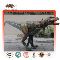 lifelike tyrannosaurus rex de vestuario