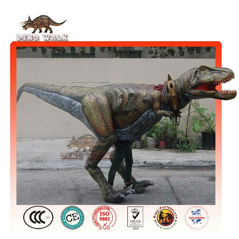 lebensechte tyrannosaurus rex kostüm