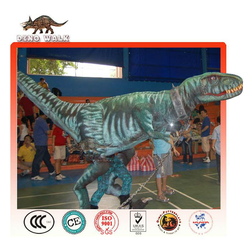 공룡 공룡 쇼를위한 무대 의상