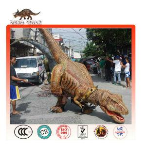 歩行の恐竜のスーツ