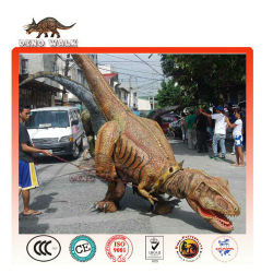 camminare dinosauro costume