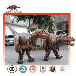 marionnette dinosaure marche