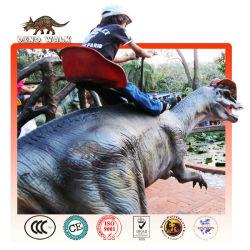 анимированные робот динозавр всадника
