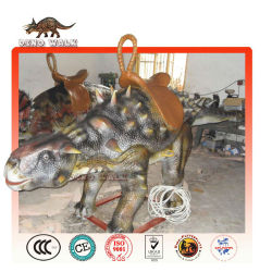 도보 동물 타기- 애니 ankylosaurus