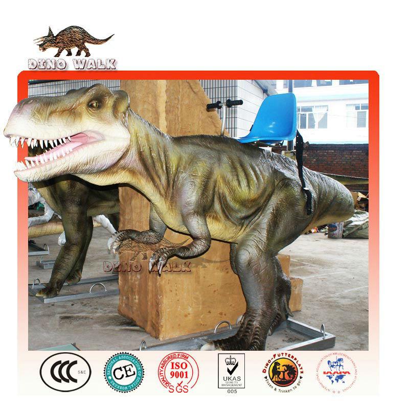 entretenimento tiranossauro rex rider