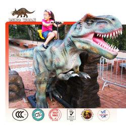 resort de vacaciones animatronic dinosaurio paseo
