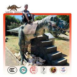 интерактивных развлечений динозавра ездить