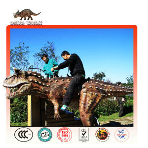 Outdoor Playground Animatronic Dinosaur Ride